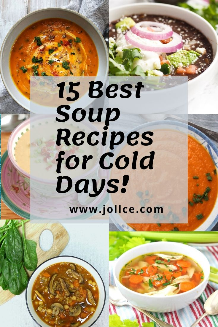 15 Best Soup Recipes for Cold Days | Soup Recipes For Winter