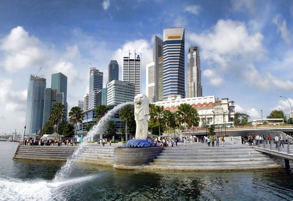 Merlion-park-Singapore