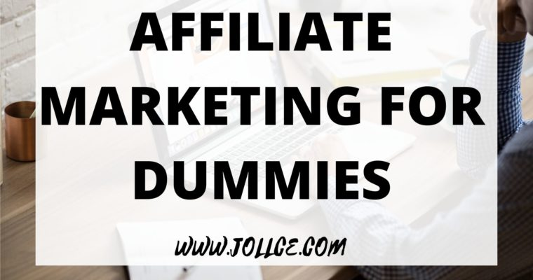 Affiliate Marketing For Dummies – Google Books | JOLLCE