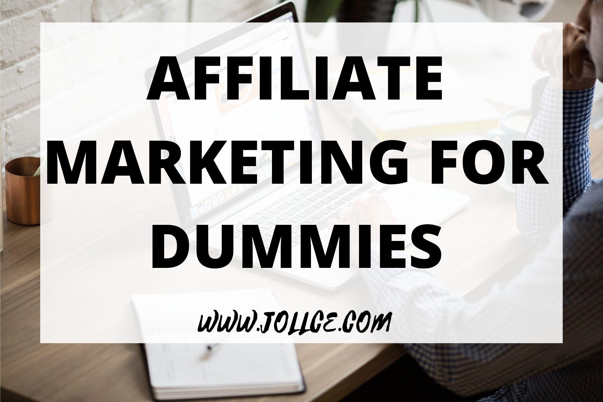 Affiliate Marketing For Dummies – Google Books   JOLLCE