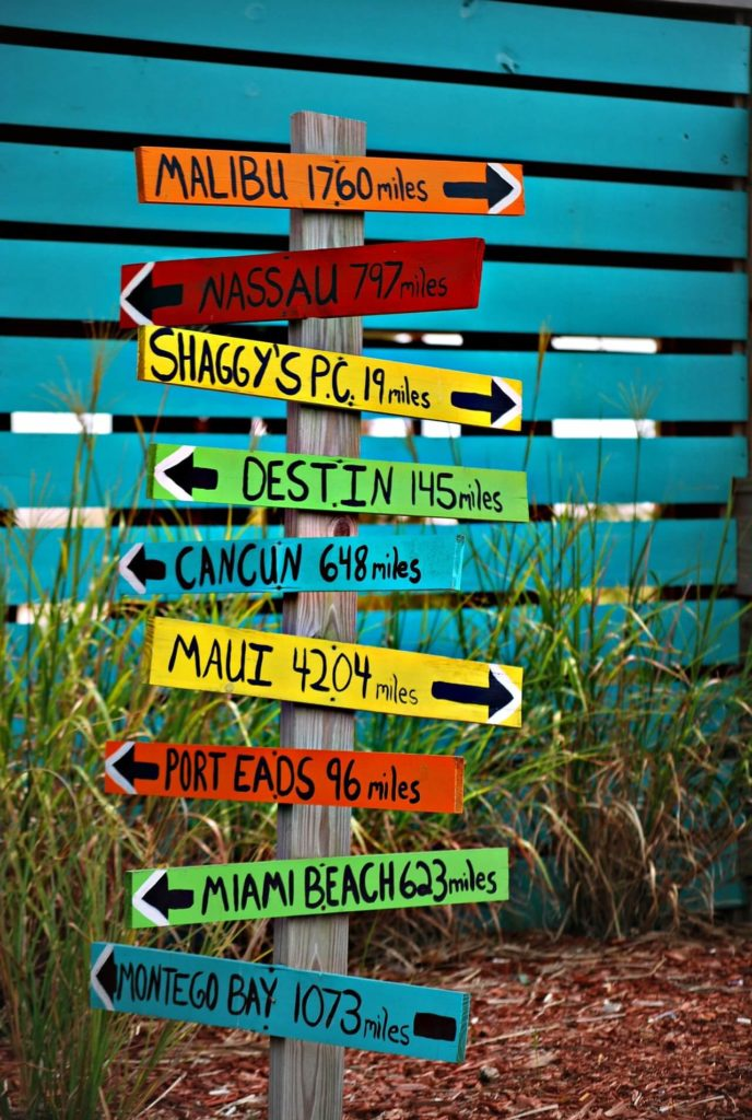 choose a destination