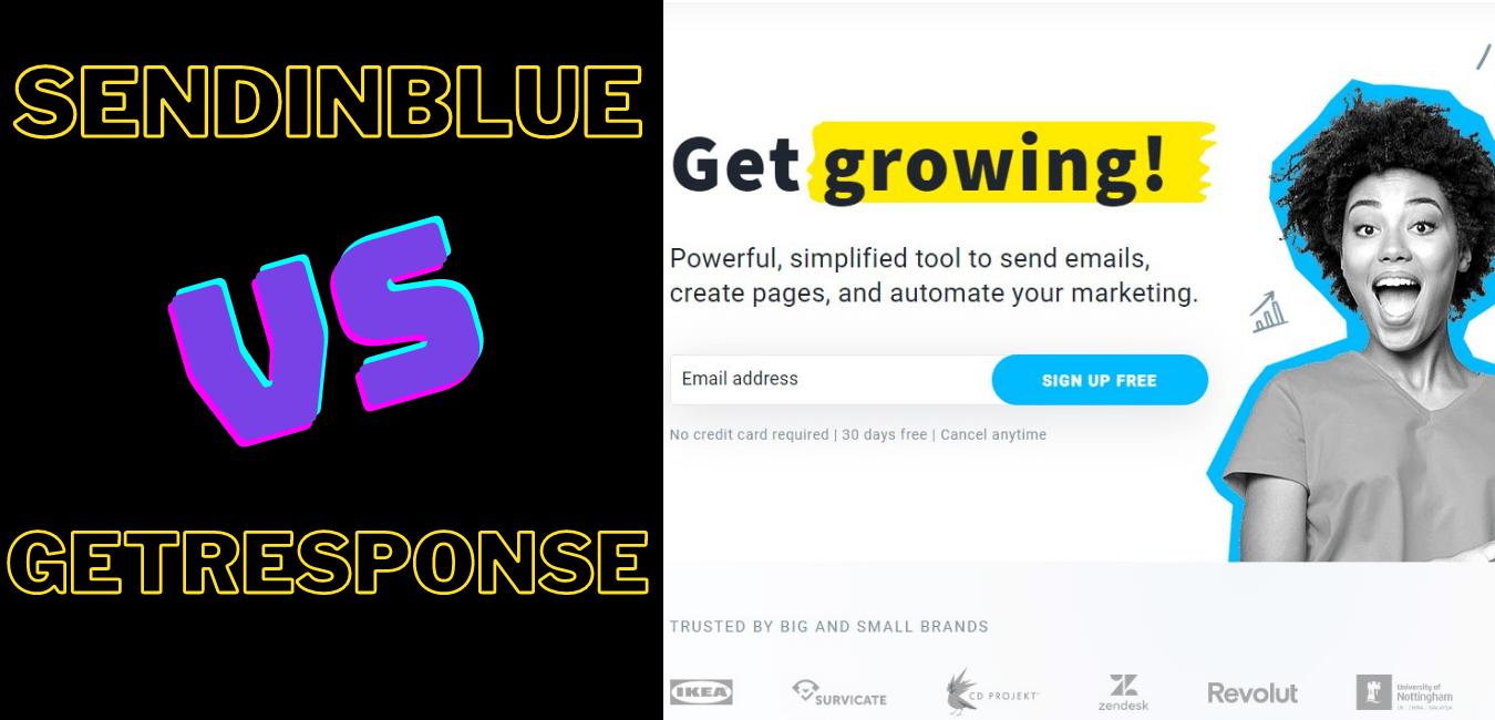 SendinBlue vs GetResponse 2021: Which one is Better?
