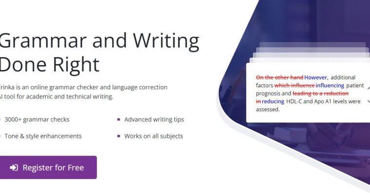Trinka Ai Review: Best Grammar Checker Free Online (2021)